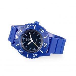 Orologio Smile Solar Collezione H2SUN, orologio solo tempo da 40 mm a carica luce solare o artificiale. L'orologio non utilizza batteria e si ricarica grazie ad un sottile pannello solare della dimensione di un filo posizionato sul quadrante da ore 2 a ore 10.