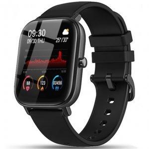 Orologio Smarty Watches SW007C uno Smartwatch unisex, adatto per uomo e donna con funzioni benessere, sport, mobile e orologio. Display TFT 1.4 pollici. Cassa in abs di colore rosa dimensioni 45 x 38 mm, spessore 10,2 mm. Cinturino in silicone di colore rosa regolabile 140-210 mm con chiusura ad ardiglione. Collegamento con app per sistema Android 5.1 / Apple superiore IOS 8.0. Cavo per ricarica. Durata batteria in standby 15 giorni, in uso normale circa 5-7 giorni.