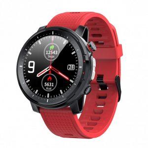 Orologio Smarty Watches SW015B Smartwatch unisex, adatto per uomo e donna disponibile nei colori Nero o rosso.
