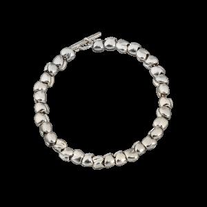 Bracciale Dodo Mariani catenella con elementi particelle XL in argento 925%.