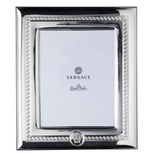 Portafoto in Argento Greca e Medusa 20X25, Versace Rosenthal.